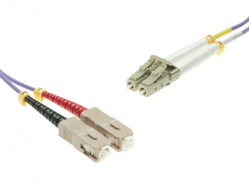 SC to LC Multimode OM4 cable