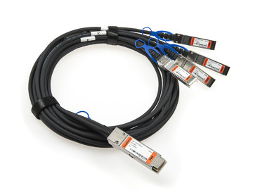 40G QSFP+ to 4x SFP+ Breakout DAC | Passive Copper Cable, 0.5 - 5 m