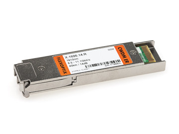 10G XFP CWDM LR with dual CDR | ~10 km / 10 dB, 1270 nm - 1610 nm, LC-Duplex