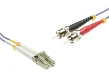 LC to ST Multimode OM4 cable