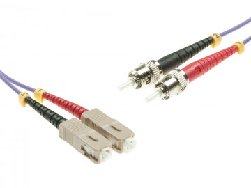 SC to ST Multimode OM4 cable