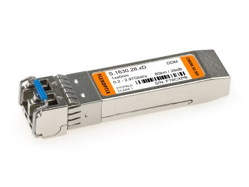 3G SDI Video SFP CWDM | ~80 km / 28 dB, 1270 nm - 1610 nm, DDM, LC