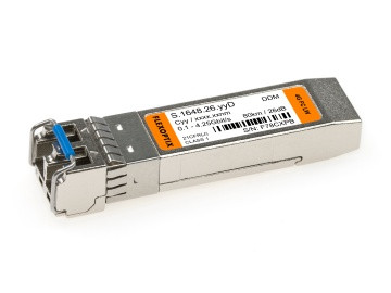 4G Fibre Channel SFP DWDM | 80 km / 26 dB, 100 GHz Grid - C-Band, DDM, LC-Duplex